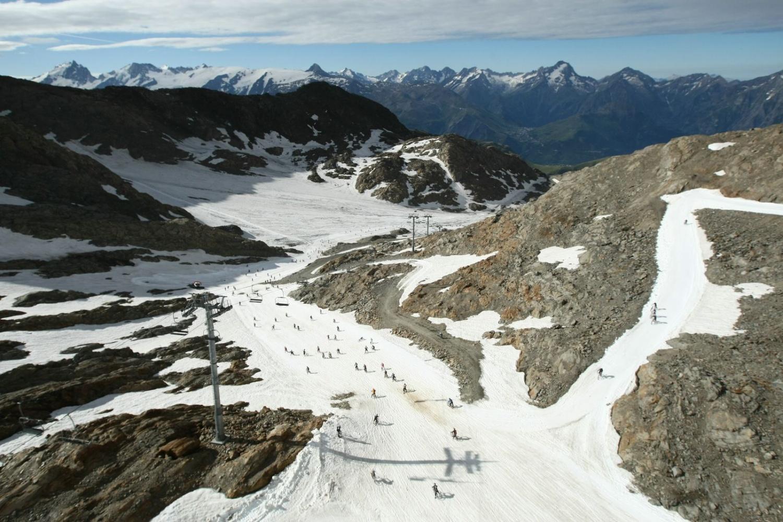 M�gavalanche � l'Alpe d'Huez